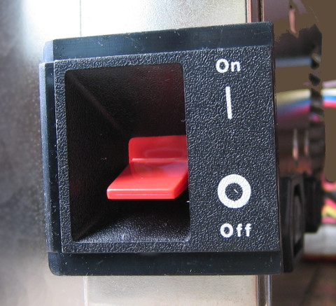 Power ON-off Button